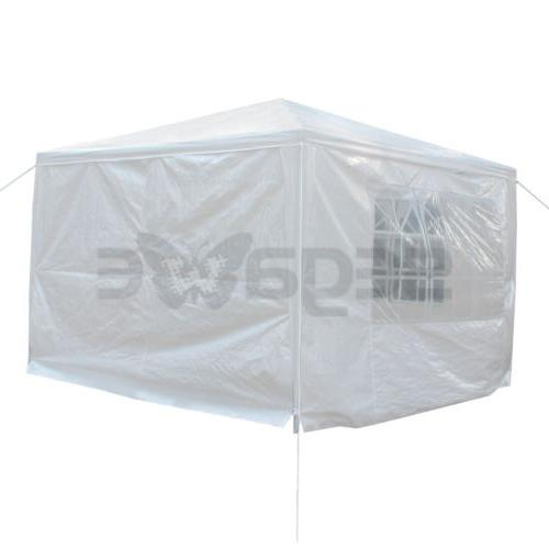 10' Canopy Wedding Gazebo Pavilion Side Walls