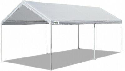 10x20 ft carport canopy tent steel heavy