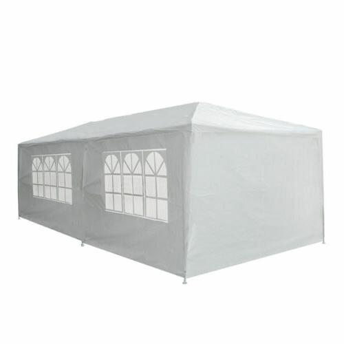 10'x Heavy Party Tent Wedding w/6 Removable Wall