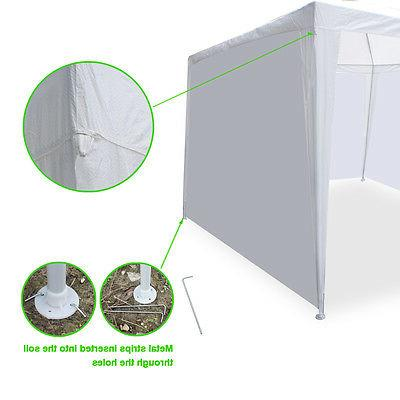 10' 20' Canopy Party With 6 garden BBQ Tent