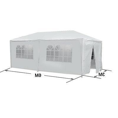 10 x20 white outdoor gazebo canopy wedding
