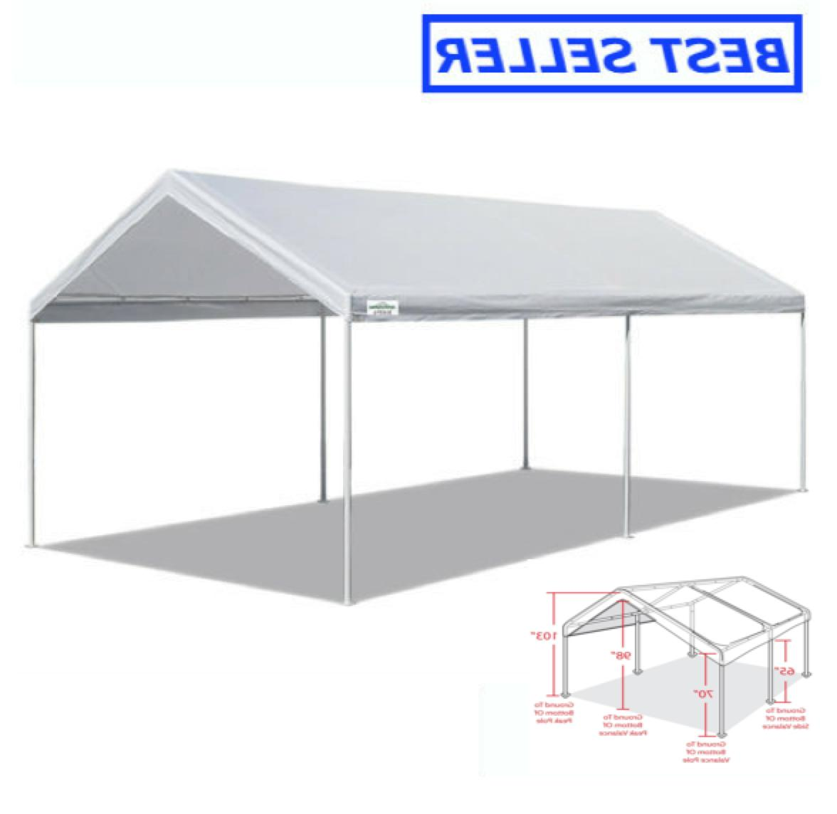 10 x 20 portable heavy duty canopy