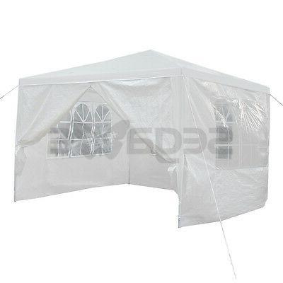 10'x10' Carport Shelter Canopy Tent Sidewall Windows