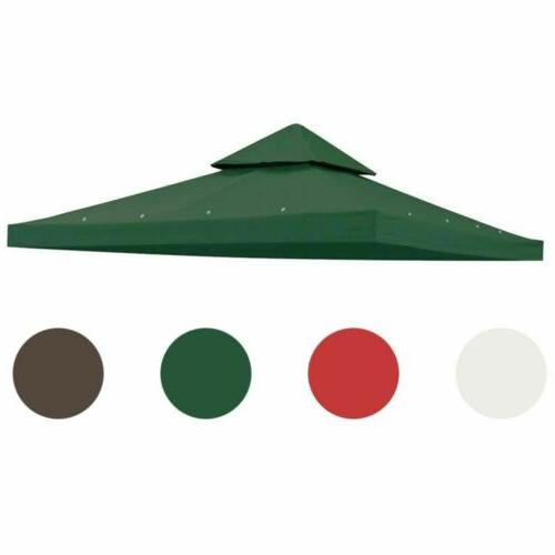 10'x10' Gazebo Canopy Top Replacement Patio Outdoor Sunshade Cover