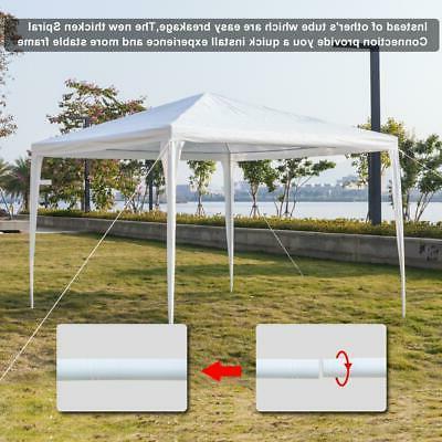 Outdoor Canopy Party Heavy Duty Gazebo Pavilion White