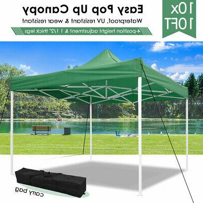 10x10 Up Canopy Outdoor Instant Gazebo Folding 420D