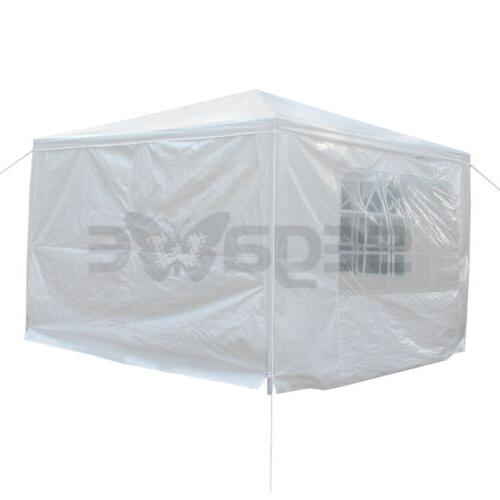 "Heavy 10""x10"" Wedding Gazebo with Side Walls"