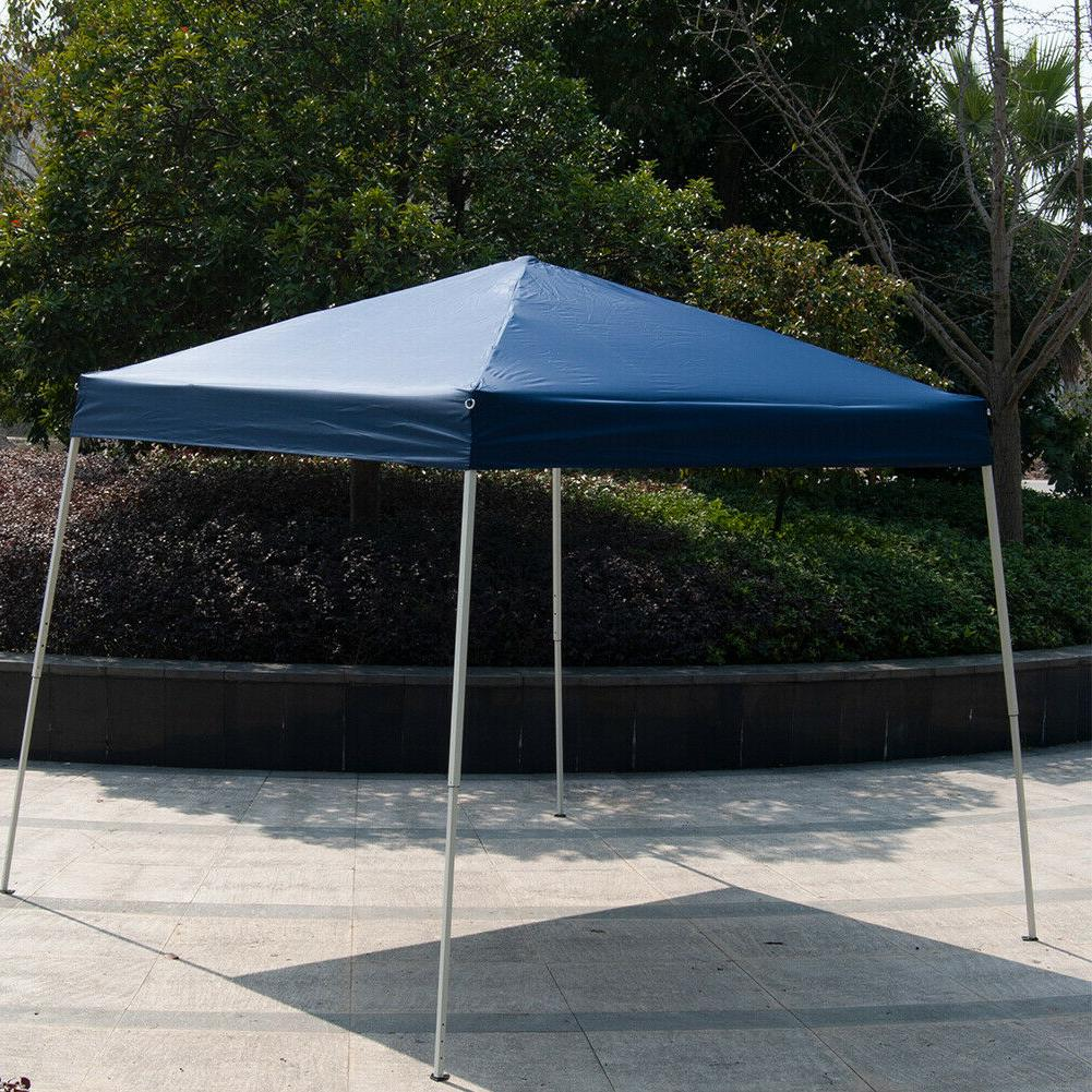 10' x10'Outdoor Slant EZ Up Wedding Tent Gazebo