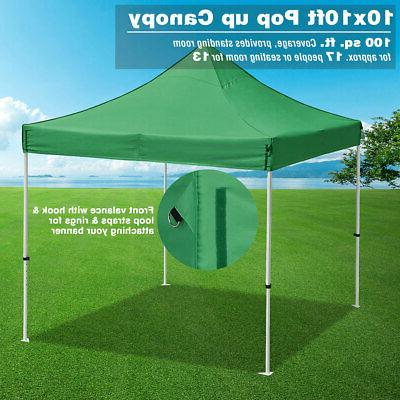 10'X10' Up Shade Commercial