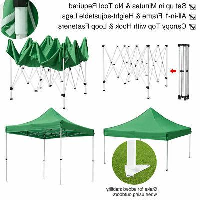 10'X10' Pop Up Canopy Tent Event Shade