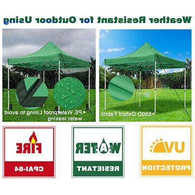 10'X10' Pop Tent Outdoor Instant Shade Shelter Commercial Gazebo