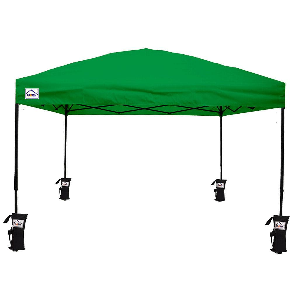 10'X10' Up Tent Outdoor Event Shade Shelter Gazebo
