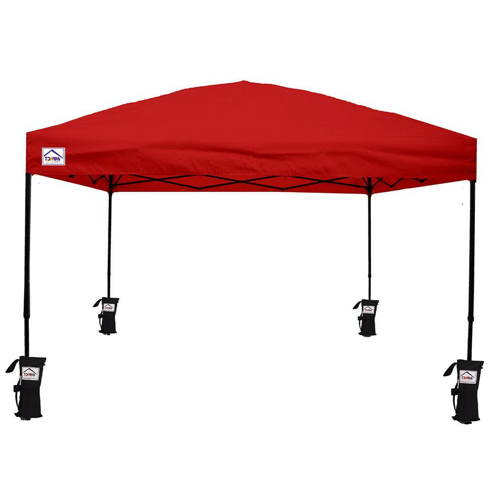 10'X10' Pop Tent Outdoor Instant Shade Commercial Gazebo