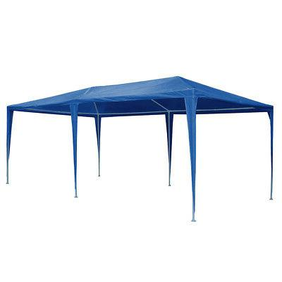 10'x20' Party Wedding Canopy Removable Cater Blue