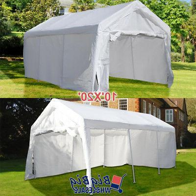 10 x20 portable garage carport car shelter