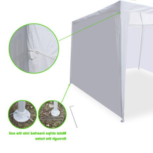10' x Canopy Party Tent Gazebo Walls White