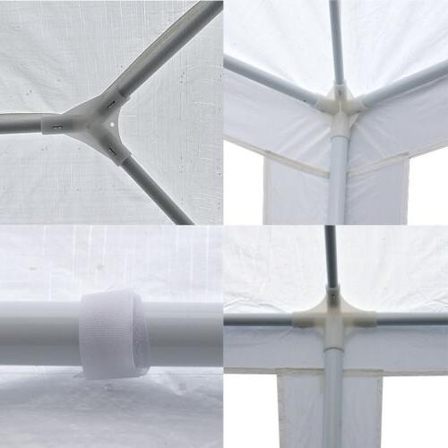 10'x30' White Gazebo Canopy Tent 8 -8