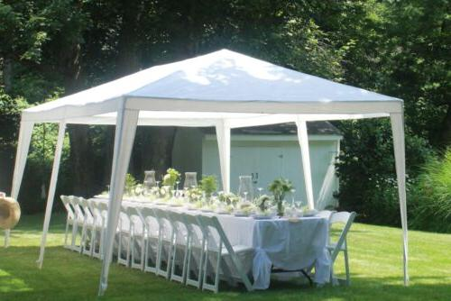 10' 20' Canopy With garden BBQ