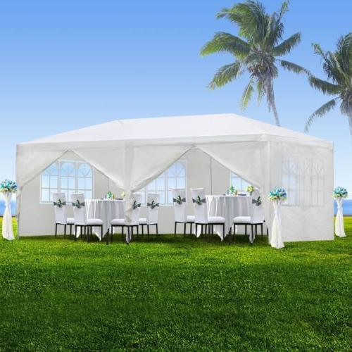10' 20' Outdoor Canopy With Walls garden BBQ