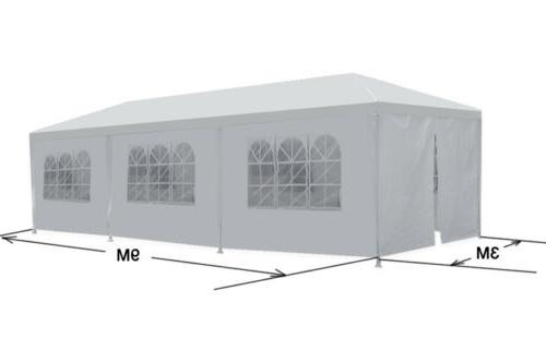 10'x30' White Outdoor Canopy Wedding Party Tent 8 Removable