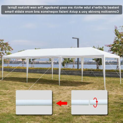 10'x30' Outdoor Canopy Party Wedding Tent White 8 -8