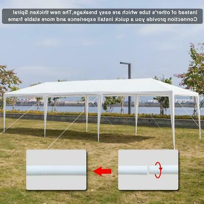 10'x30' Gazebo Canopy Party 8 Removable US