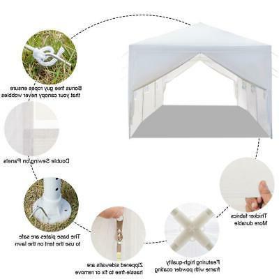 10'x30' White Canopy Wedding Tent 8 US