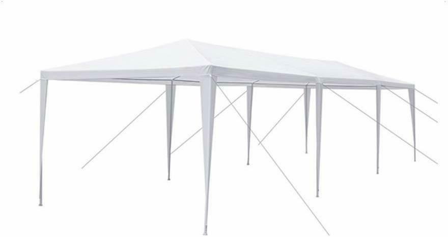 FDW White Gazebo Canopy Tent Removabl