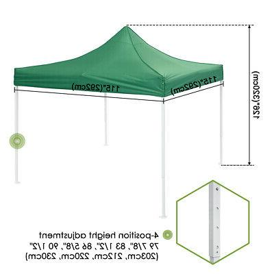 10x10' Commercial Up Canopy Bussiness Instant