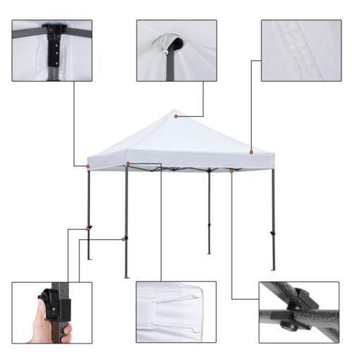 10x10' Canopy Party Folding Waterproof Gazebo