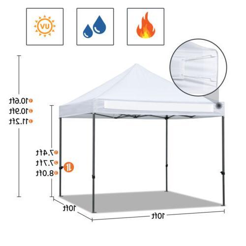 10x10' Canopy Tent Waterproof Outdoor
