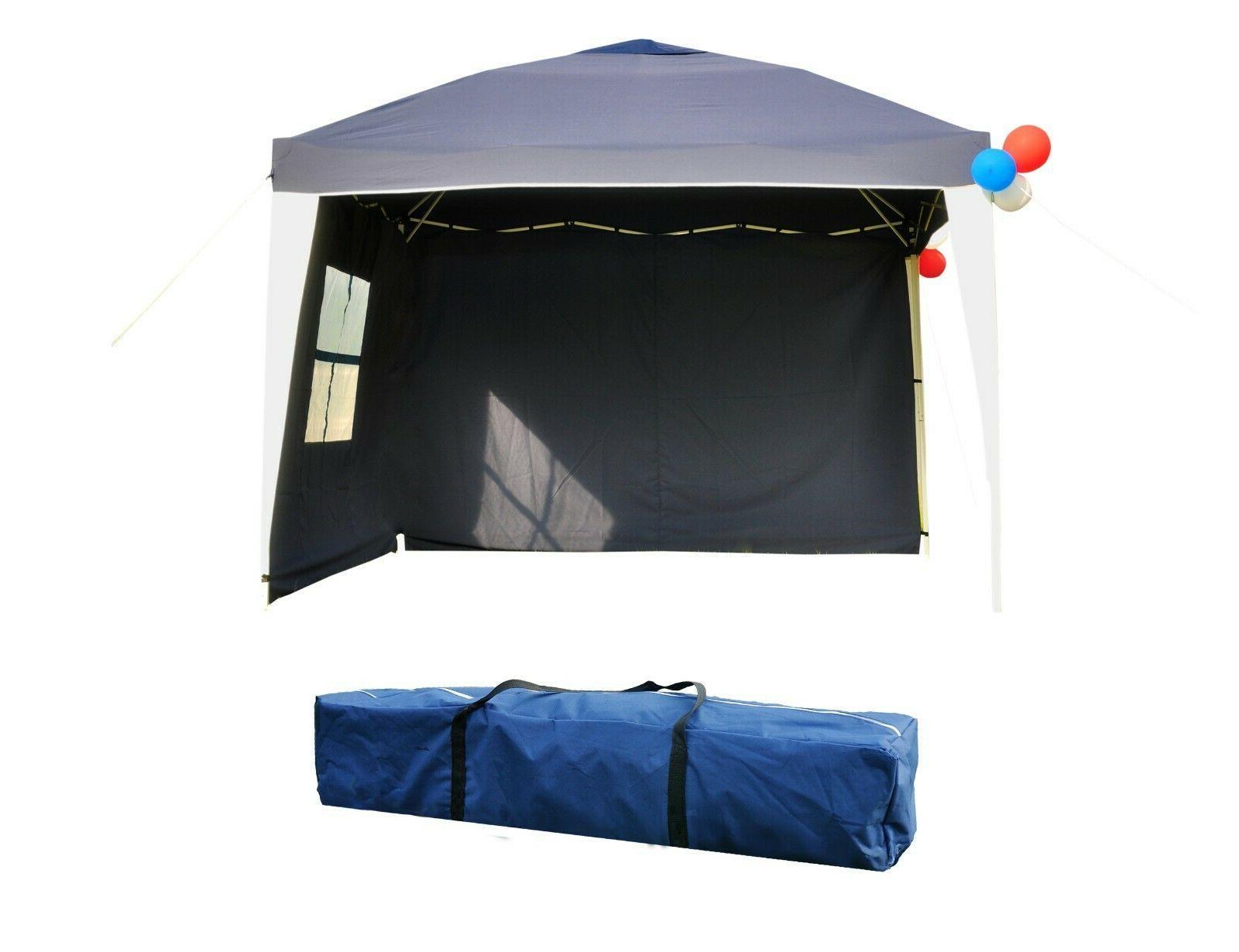 10x10 EZ Canopy Wedding Tent Gazebo Outdoor W/