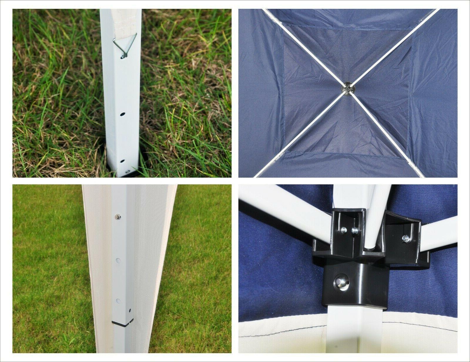 10x10 Canopy Tent Gazebo Outdoor Shelter W/