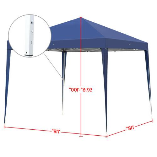 10x10 Up Canopy Wedding Party Tent Outdoor Patio