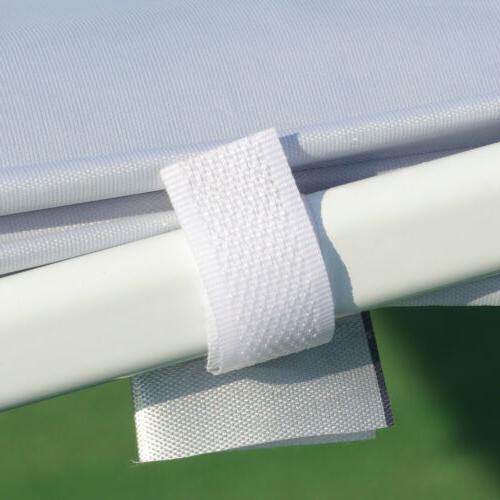 10x10 Portable Up Canopy Gazebo Wedding Tent Patio