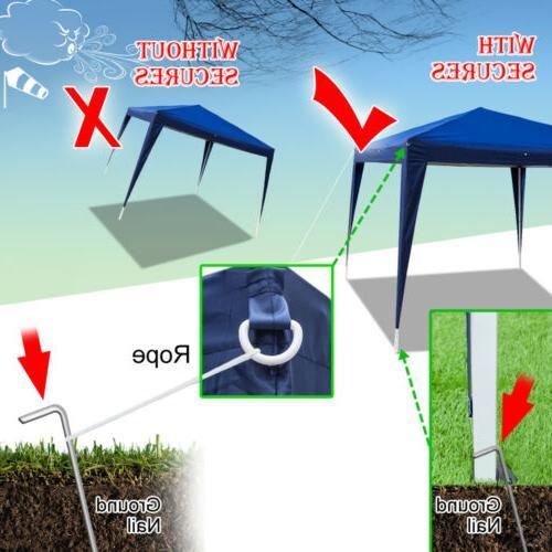 10x10 Pop Up Canopy Garden Gazebo Patio