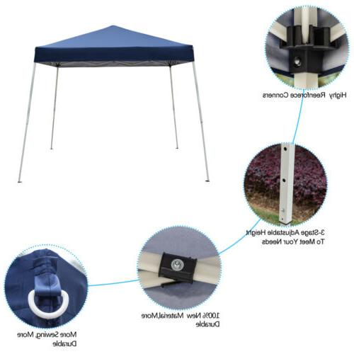 10x10 EZ Up Canopy Wedding Party Tent Patio