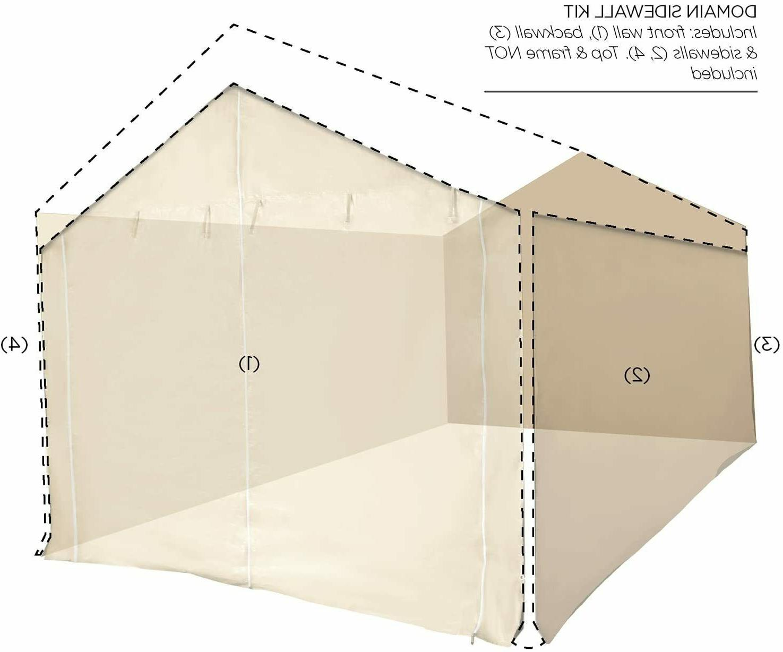 10x20 Garage Kit only Canopy Shelter Big Carport