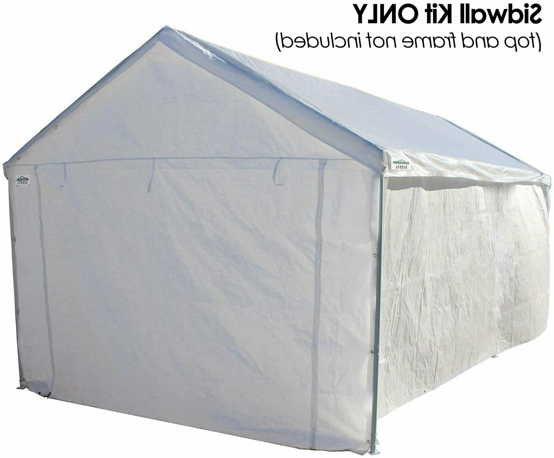 10x20 Garage Wall Kit Shelter Tent Carport