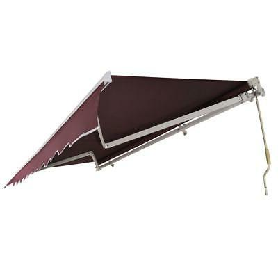 12x10 Canopy Retractable Outdoor Shade