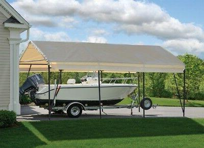 12x20x9 ShelterLogic Replacement Canopy Top Cover 62635 Carport