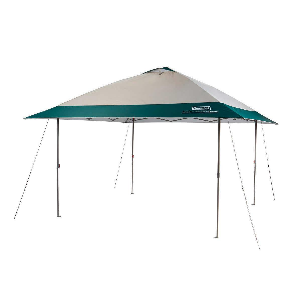 Coleman 13' x 13' Instant Eaved Shelter, 50+ UPF protection