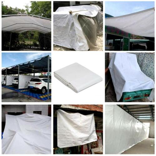 16 mil Tarpaulin Tarp Tent Shelter Car Boat Waterproof
