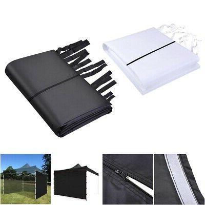 1Pc 10x10 Ft EZ Pop Up Canopy Sidewall Panel Gazebo Sun Shad
