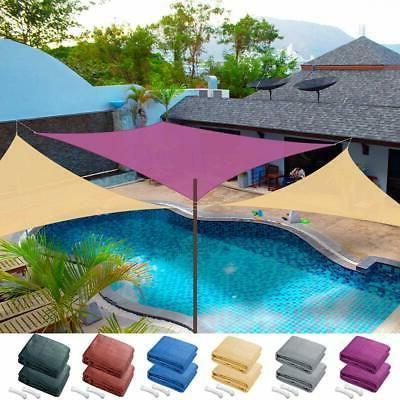 2x Sun Shade Sail Patio Outdoor Canopy Pool UV Block Cover T
