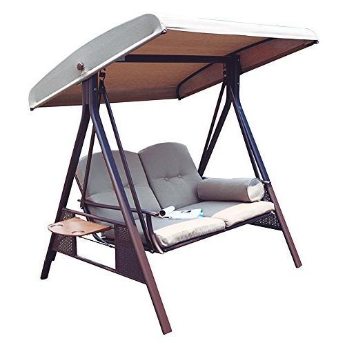 2 person porch swing hammock