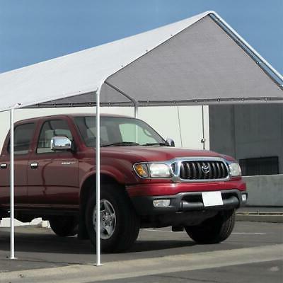 Quictent White 10'x20' Carport Canopy Heavy Duty Garage Gard