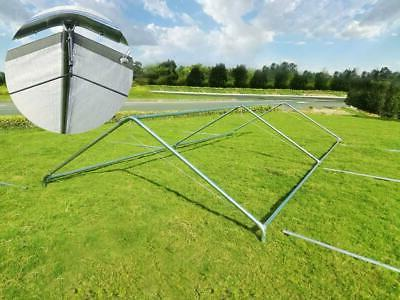 Quictent Outdoor Storage Shelter Frame US
