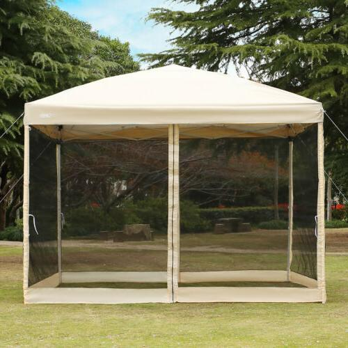 VIVOHOME 210D Outdoor Patio Gazebo Canopy Instant Pop Up Wed