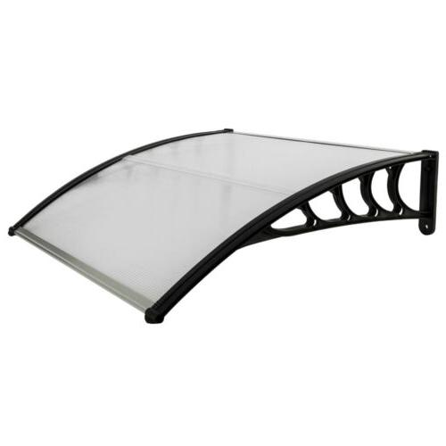 "40""x 80""/120"" Window Awning Outdoor Patio"
